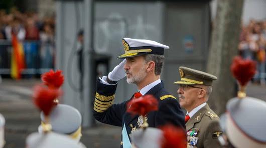 España vuelve a celebrar su día:  2.656 militares, 68 aeronaves y 115 vehículos