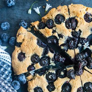 Blueberry Almond Scones.