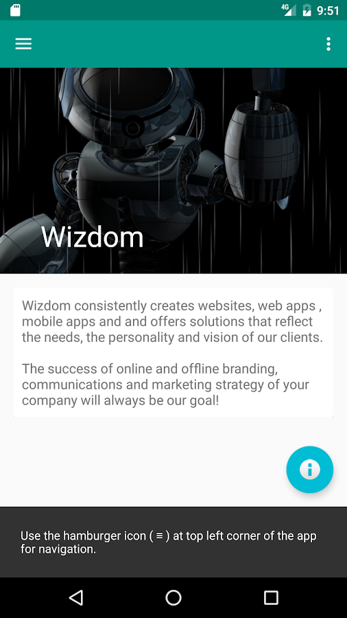 Wizdom- screenshot