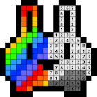 Number coloring : Dot coloring icon