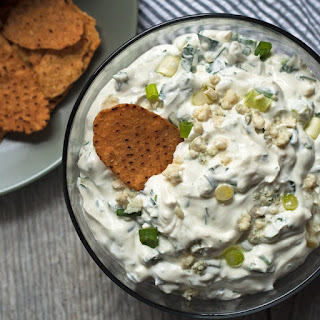Creamy Blue Cheese Dip for Chips