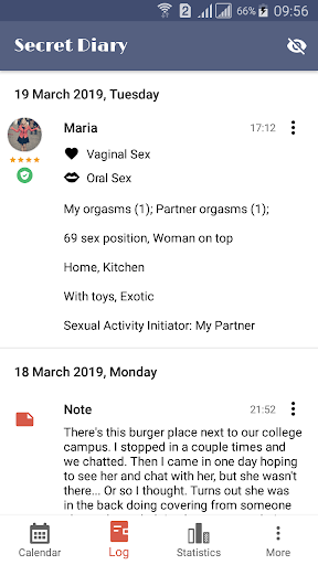 Download Sex Life - Sex Tracker, Diary of Sex, Sex Calendar 1.0.3 2