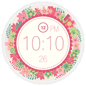 Floral - Watch Face