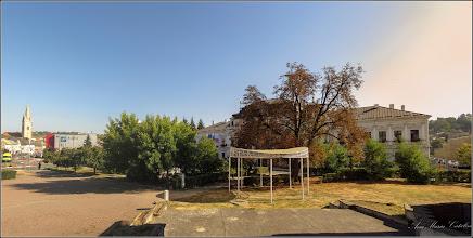 Photo: Turda - Piata 1 Decembrie 1918, parc  - vedere din zona Casei  de Cultură - 2019.09.16