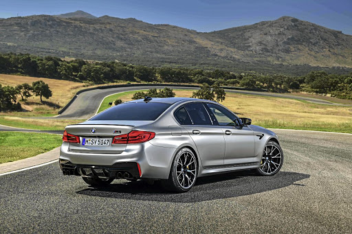 The M5 Competition is at home on the track as it is on almost every type of road. Picture: BMW