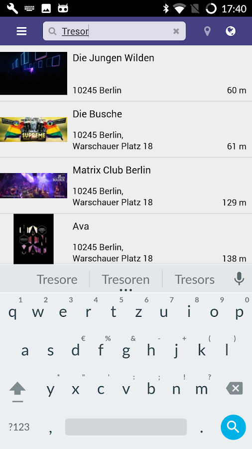 Party App - DIE Party App- screenshot