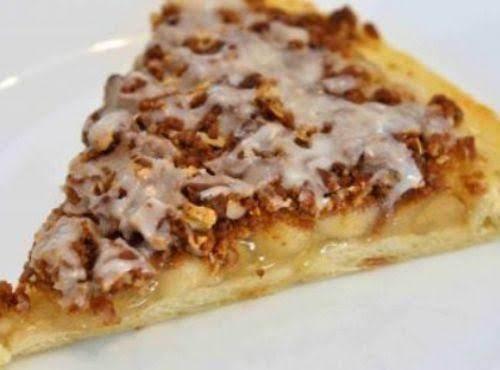 Coconut Apple Pie In Pizza Pan Recipe