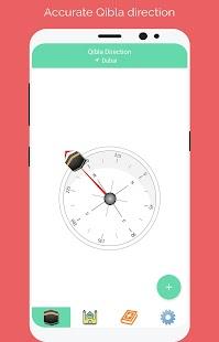 MP3 Quran Sharif, Qibla Compass & Prayer Times - náhled