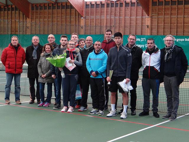 25/02/2018 - 58ème tournoi open : 2 américains à Gisors !