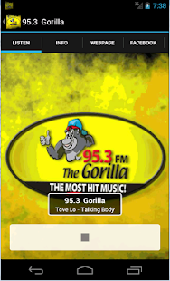 Gorilla 95.3- screenshot thumbnail