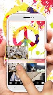 Peace Painting Keyboard Theme - náhled