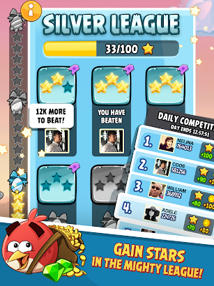 Angry Birds Classic screenshot for Android