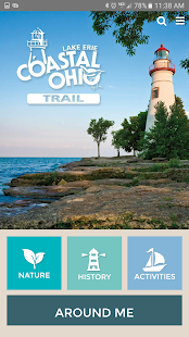 Lake Erie Coastal Ohio Trail- screenshot thumbnail