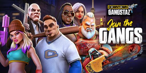 Downtown Gangstaz - Hood Wars android2mod screenshots 1
