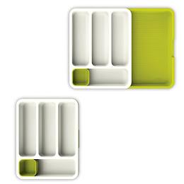 Organizator extensibil de tacamuri pentru sertar