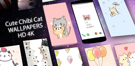 Cute Chibi Cat Wallpapers Hd On Windows Pc Download Free