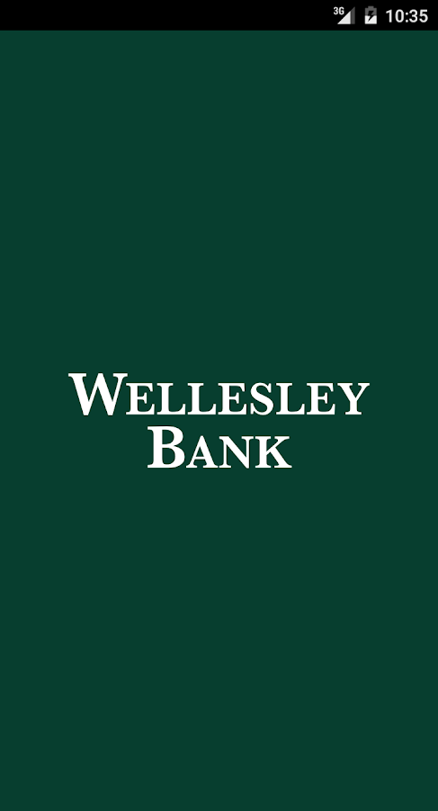 Wellesley Bank Mobile Banking- screenshot