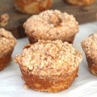 Caramel Apple Muffins.