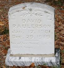 Photo: David Raulerson / Family Unknown