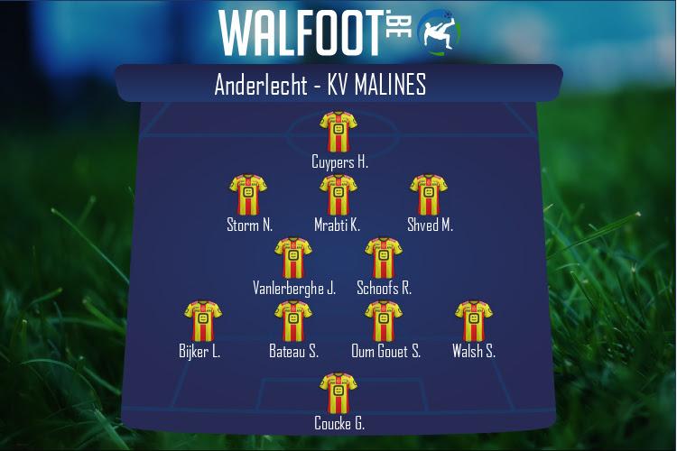 KV Malines (Anderlecht - KV Malines)