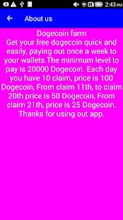 Dogecoin farm - Highest paying Doge faucet - náhled