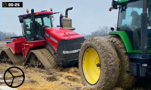 Tractor Pull Farming Simulator: Free Game 2020  captures d'écran 1