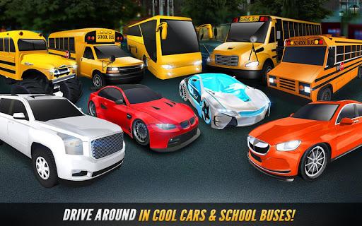 Super High School Bus Driving Simulator 3D - 2020 apkdebit screenshots 7