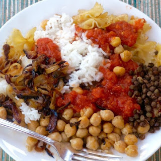Egyptian Lentil and Rice.
