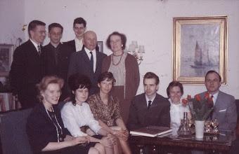 Photo: 19620800 Venäjän opiskelijat eversti Lyytisen kotona