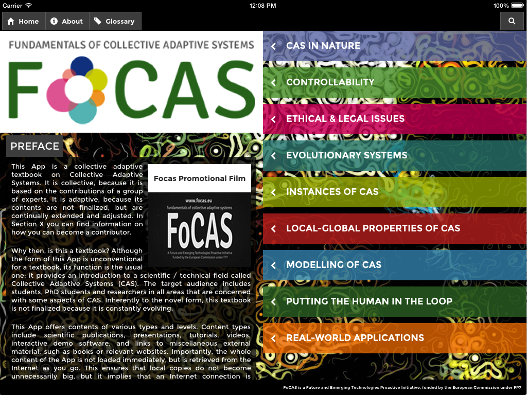 Focas- screenshot