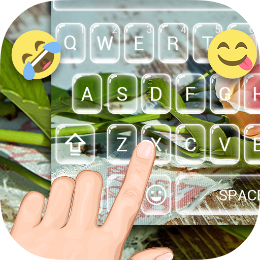 Lovely Pink Emoji Keyboard
