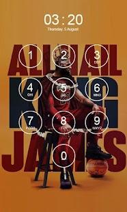 Lebron James Lock Screen 4K - náhled