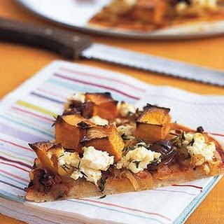Gluten-free Pumpkin And Feta Pizza