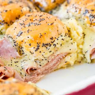 Ham and Cheese Sliders.