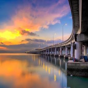 Penang Bridge, Malaysia by Adi Affendi - Buildings & Architecture Bridges & Suspended Structures