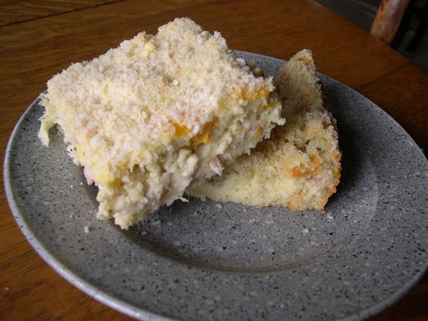 Italian Ham And Cheese Sandwich Casserole. Bauru Recipe
