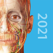 App Icon for Human Anatomy Atlas 2021: Complete 3D Human Body App in United States Play Store