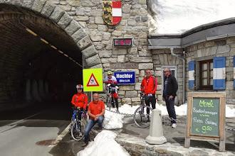 Photo: Am höchsten Punkt der Tour 2013.