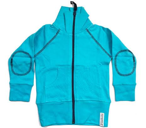 Geggamoja Zipsweater Turkos
