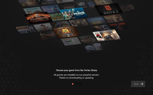 Vortex Cloud Gaming  16