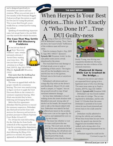 DUI Special Report Page 9