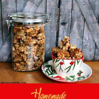 Homemade Granola Recipe - Maple Honey Granola Recipe