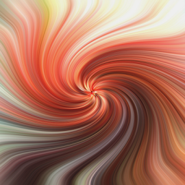 Turning Color by Edward Gold - Digital Art Abstract ( orange, digital photography, blue, white, design, colorfull, yellow, abstract, brown, digital art,  )