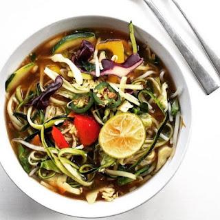 Detox Asian Veggie Hot Pot