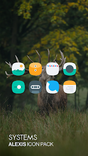 Alexis Icon Pack: Clean and Minimalistic 10.0 Latest MOD Updated 2