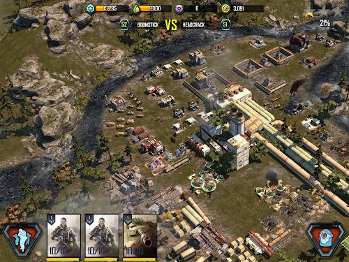 Screenshot 2 War Commander: Rogue Assault 2.35.1 APK hack