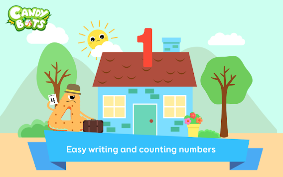 Candy 123 Numbers Writing FREE APK Screenshot Thumbnail 9