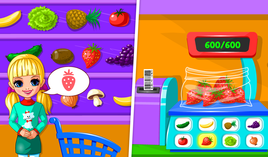 Supermarket Game For Kids Screenshot