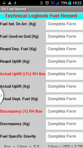 Alex Fuel Calculator for EK 1.8 screenshots 1