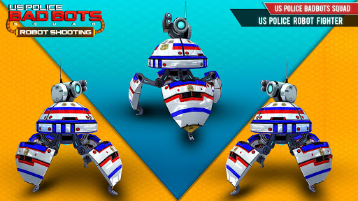 US Police Futuristic Robot Transform Shooting Game 2.0.4 screenshots 13